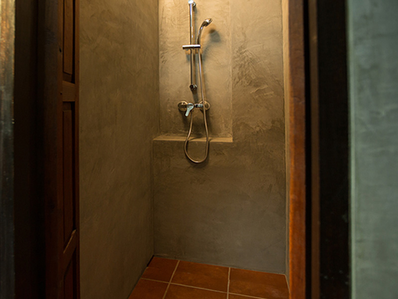 8-BED DORMITORY • SHOWER