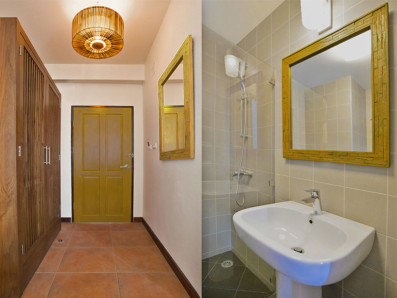 STANDARD DOUBLE ROOM • BATHROOM