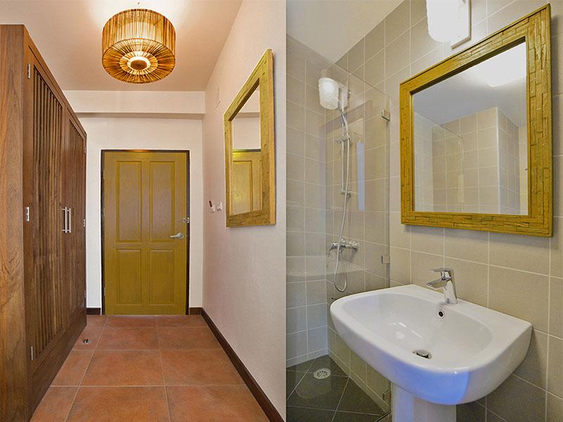 STANDARD DOUBLE ROOM • BATHROOM
