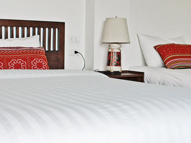 SUPERIOR TRIPLE ROOM • DOUBLE & SINGLE BED